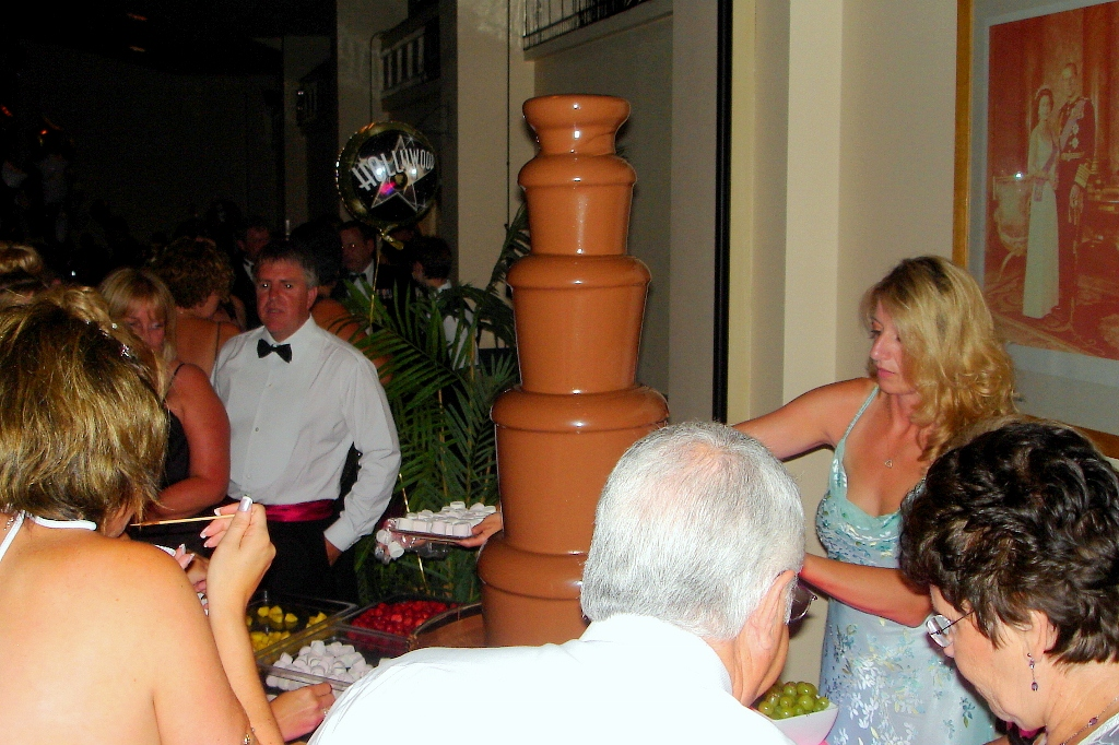 RAF Yeovilton Chocolate Fountain Hire