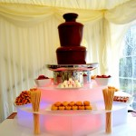 Chocolate Fountain Surround