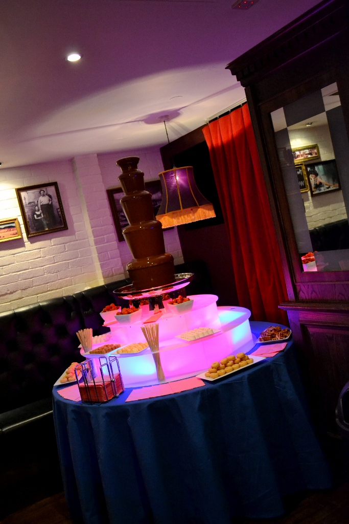 Chocolate Fountain Hire at Mary Jane's Bar