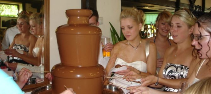 Chocolate Fountain Hire Symonds Yat