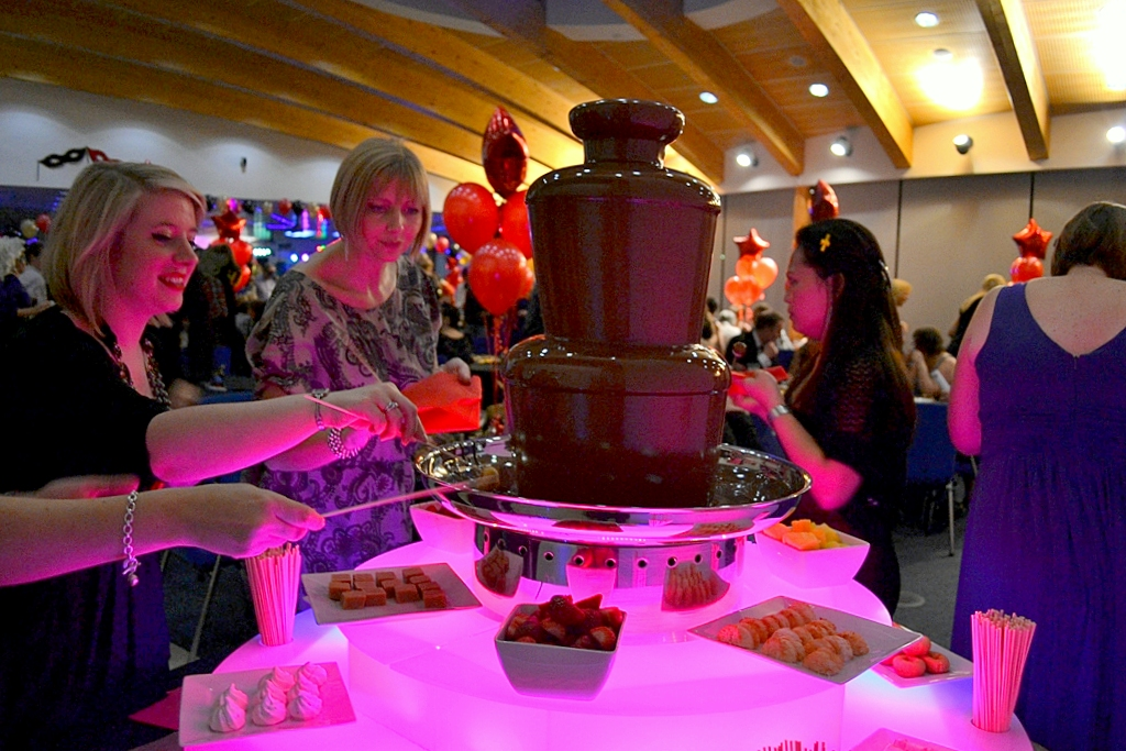 John Lewis Christmas Party Chocolate Fountain Hire Odney Club