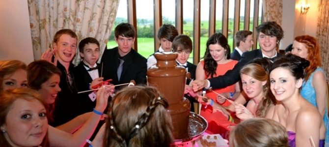 Chocolate Fountain Prom Bradford Upon Avon