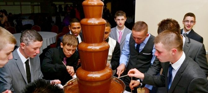 Birmingham Chocolate Fountain Prom