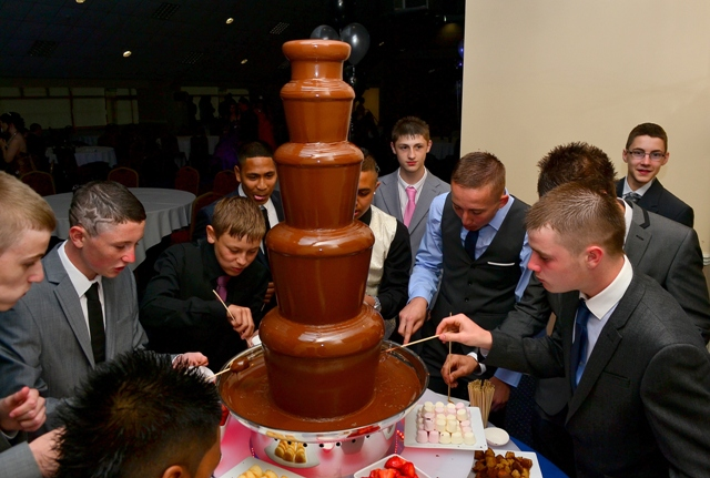 Birmingham Chocolate Fountain Prom Night
