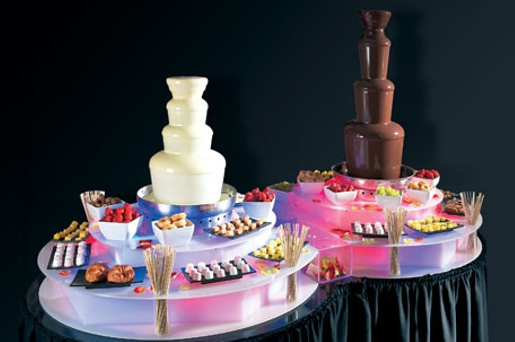 Chocolate Fountain Hire Cost Price