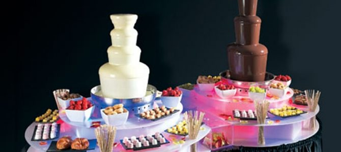 How Much to Hire a Chocolate Fountain?