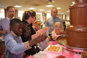 Birthday Chocolate Fountain Hire
