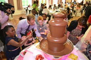 Birthday Chocolate  Fountain Hire Event Aylesbury