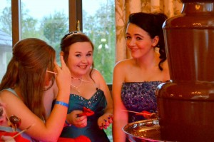 Prom, Graduation Chocolate Fountain Company Bradford upon Avon - Chocolate Fountains R Us