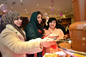 Chocolate Fountain Hire Asian Birthday Event Southall - Chocolate Fountains R Us
