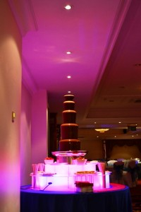 Large Chocolate Fountain Hire Fondue Golden Valley Cheltenham - Chocolate Fountains R Us