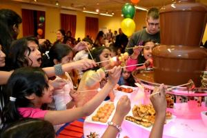 Small Chocolate Fountain Hire