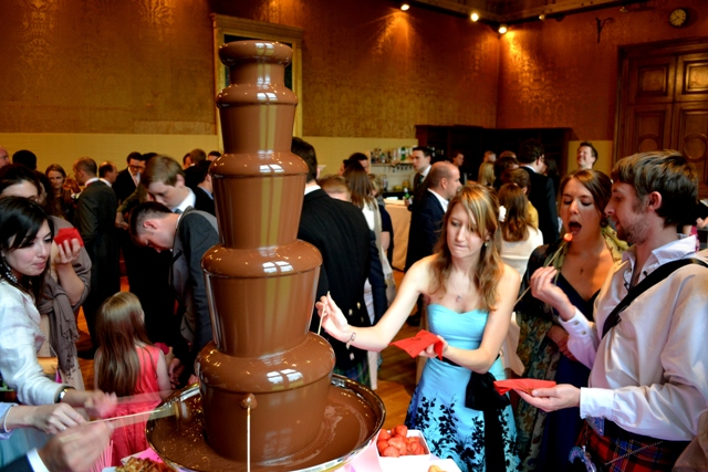 Wedding Chocolate Fountain Hire Chocolate Fountain Hire in