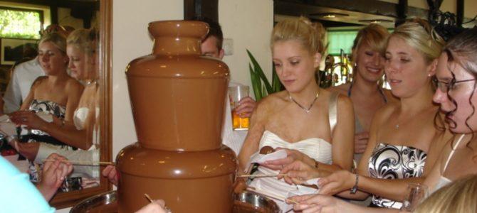 Chocolate Fountain Hire Symonds Yat