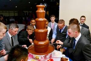 Birmingham Chocolate Fountain Hire Prom Night - Chocolate Fountains R Us