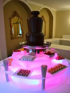 Medium Chocolate Fountain Hire Provision - Chocolate Fountains R Us