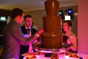 Large, Medium Chocolate Fountain Hire - Chocolate Fountains R Us