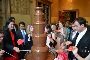 Large Wedding Chocolate Fountain Hire Westonbirt - Chocolate Fountains R Us
